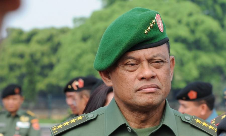 Image result for Panglima TNI Gatot Nurmantyo