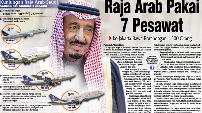 Image result for raja salman akan ke indonesia